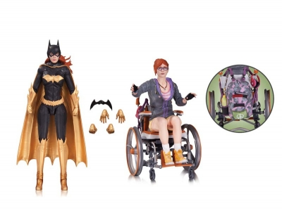 BATMAN: ARKHAM KNIGHT: BATGIRL AND ORACLE ACTION FIGURE 2-PACK $60