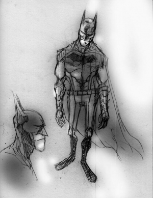 Gotham by Midnight Batman Concept Art