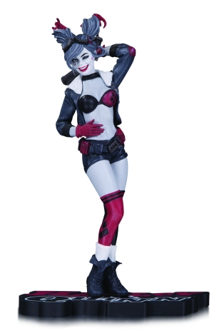 HARLEY QUINN: RED, WHITE AND BLACK STATUE $80