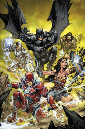 Justice League #32 Variant