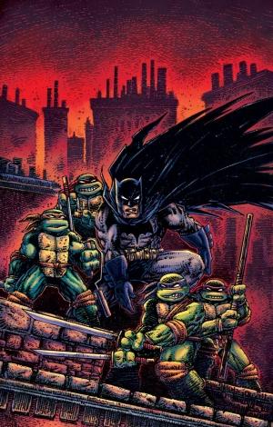 Batman/Teenage Mutant Ninja Turtles III #2 Variant