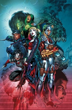 Suicide Squad #1 cover by JIM LEE and SCOTT WILLIAMS