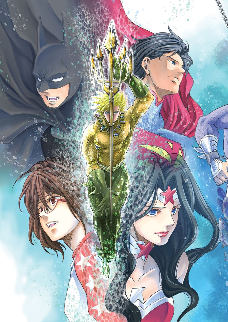 Batman and the Justice League Manga Volume 2
