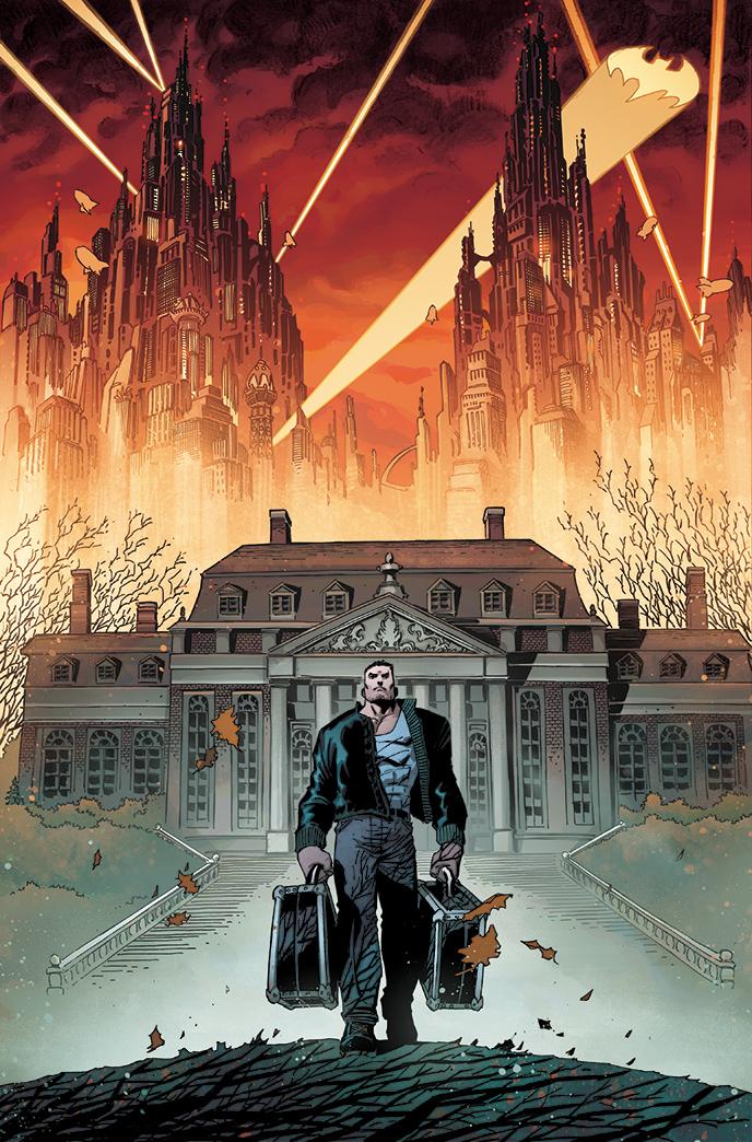 Batman: The Dark Knight #1 Interior Art