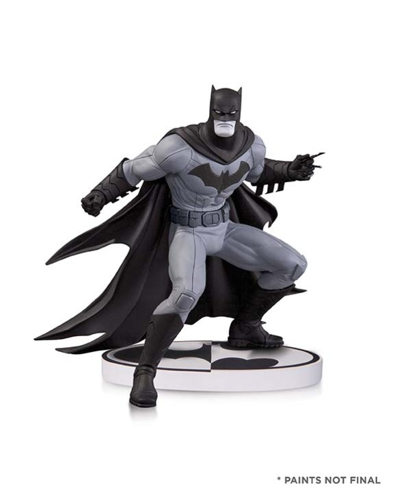 BATMAN: BLACK AND WHITE BATMAN BY GREG CAPULLO SECOND EDITION STATUE