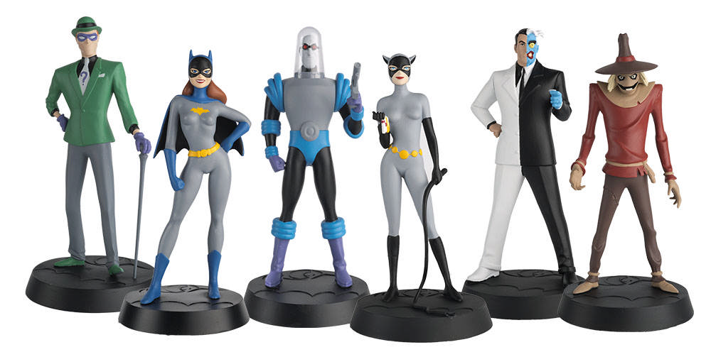 the batman universe  u2013 nytf  eaglemoss previews toys based on batman  the animated series and