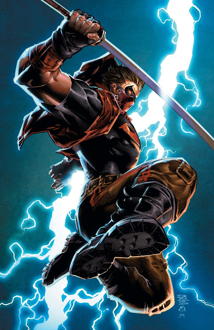 Red Hood: Outlaw #37 Variant