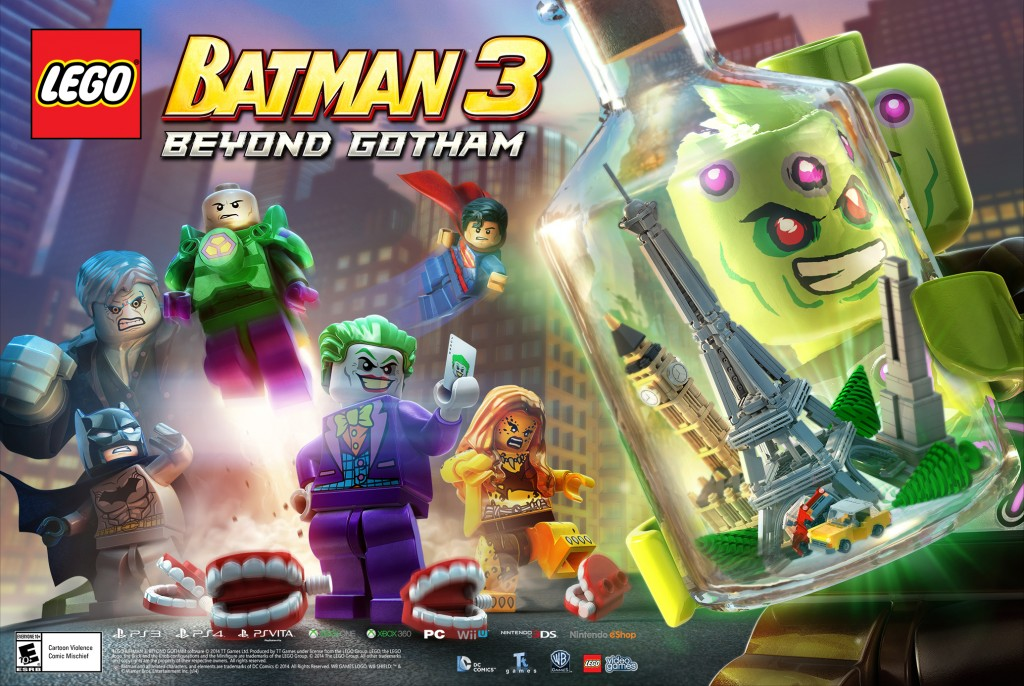 LEGO Batman 3 Art