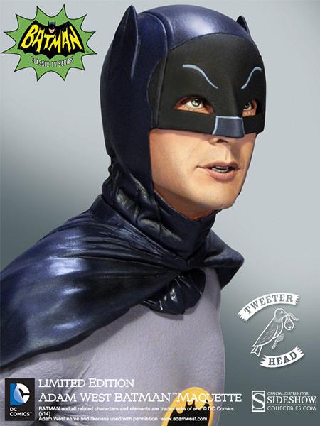 Tweet Head Adam West Batman Maquette 2