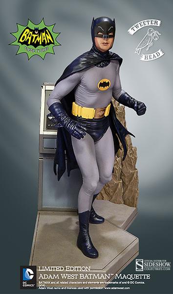 Tweet Head Adam West Batman Maquette 3