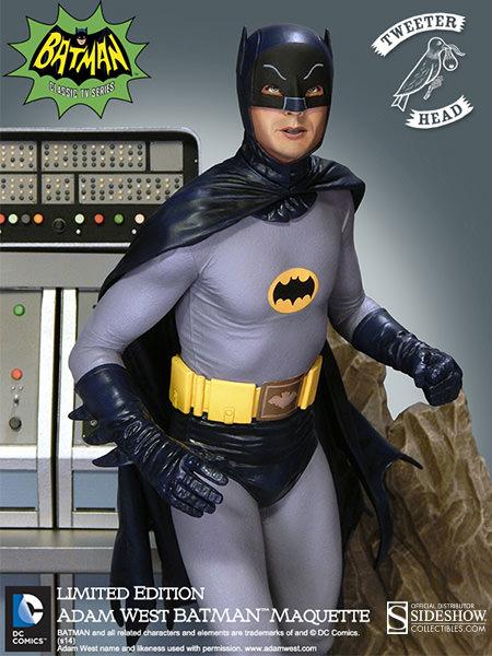 Tweet Head Adam West Batman Maquette