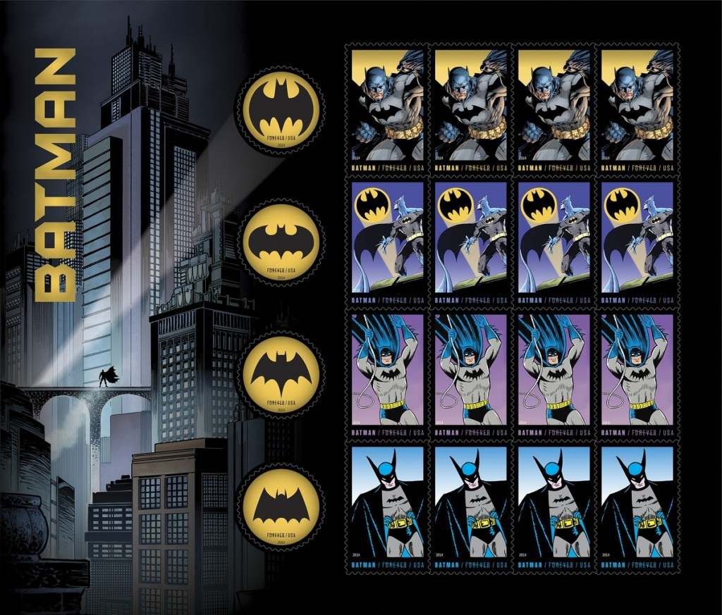 batman stamps