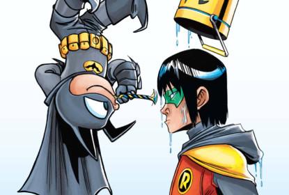 Bat Mite And Batgirl