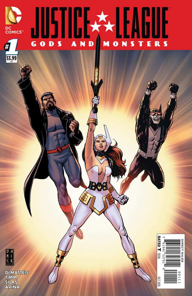 justice league gods