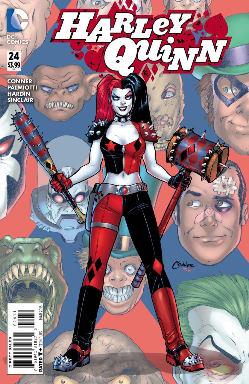 New 52 Harley Quinn And Joker The Batman Universe �...