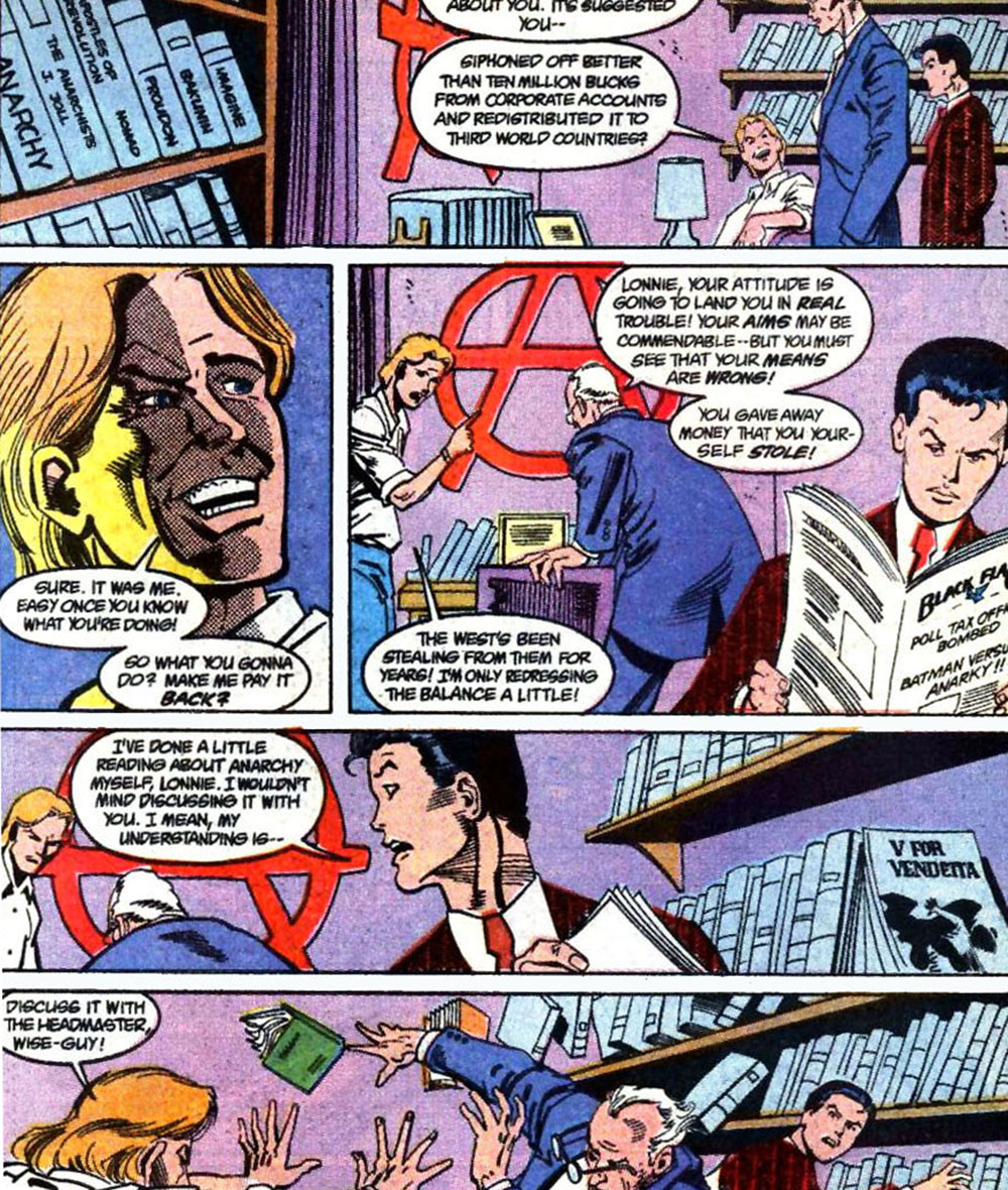Anarky Detective Comics 620