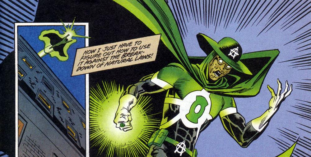 Anarky Green Lantern ring Anarky Vol 2