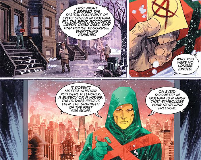 Detective Comics New 52 Anarky Sam Young