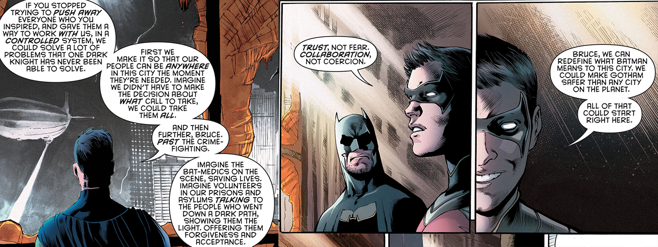 Tim Drake Monologue Detective Comics 946