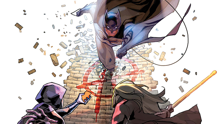 New Detective Comics cover Anarky Spoiler