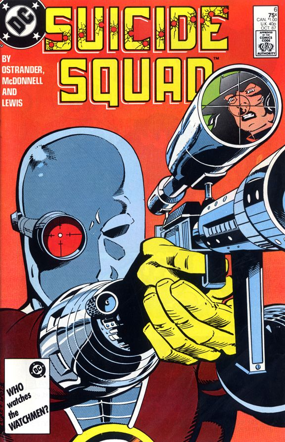 cool deadshot cover