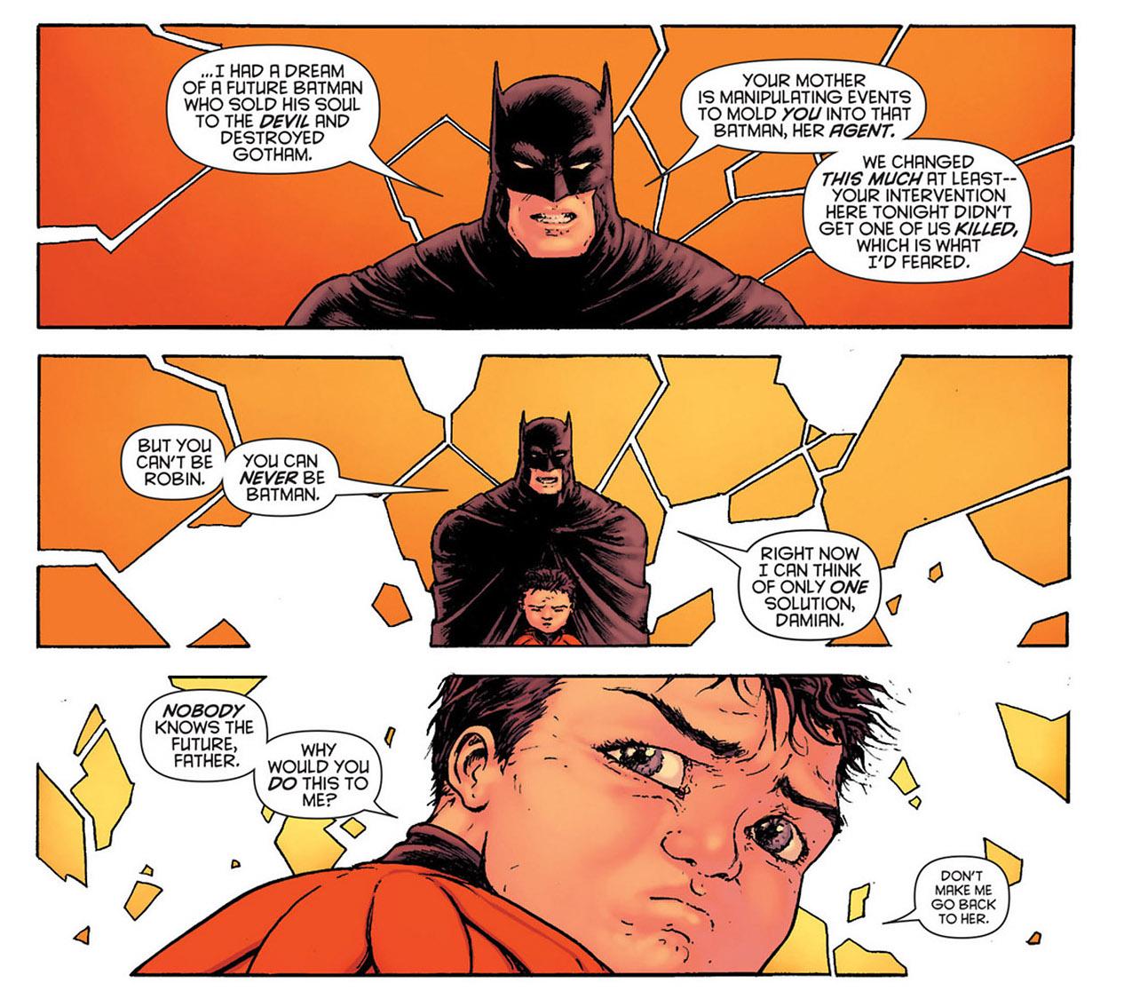batman inc 5 2 batman damian yung