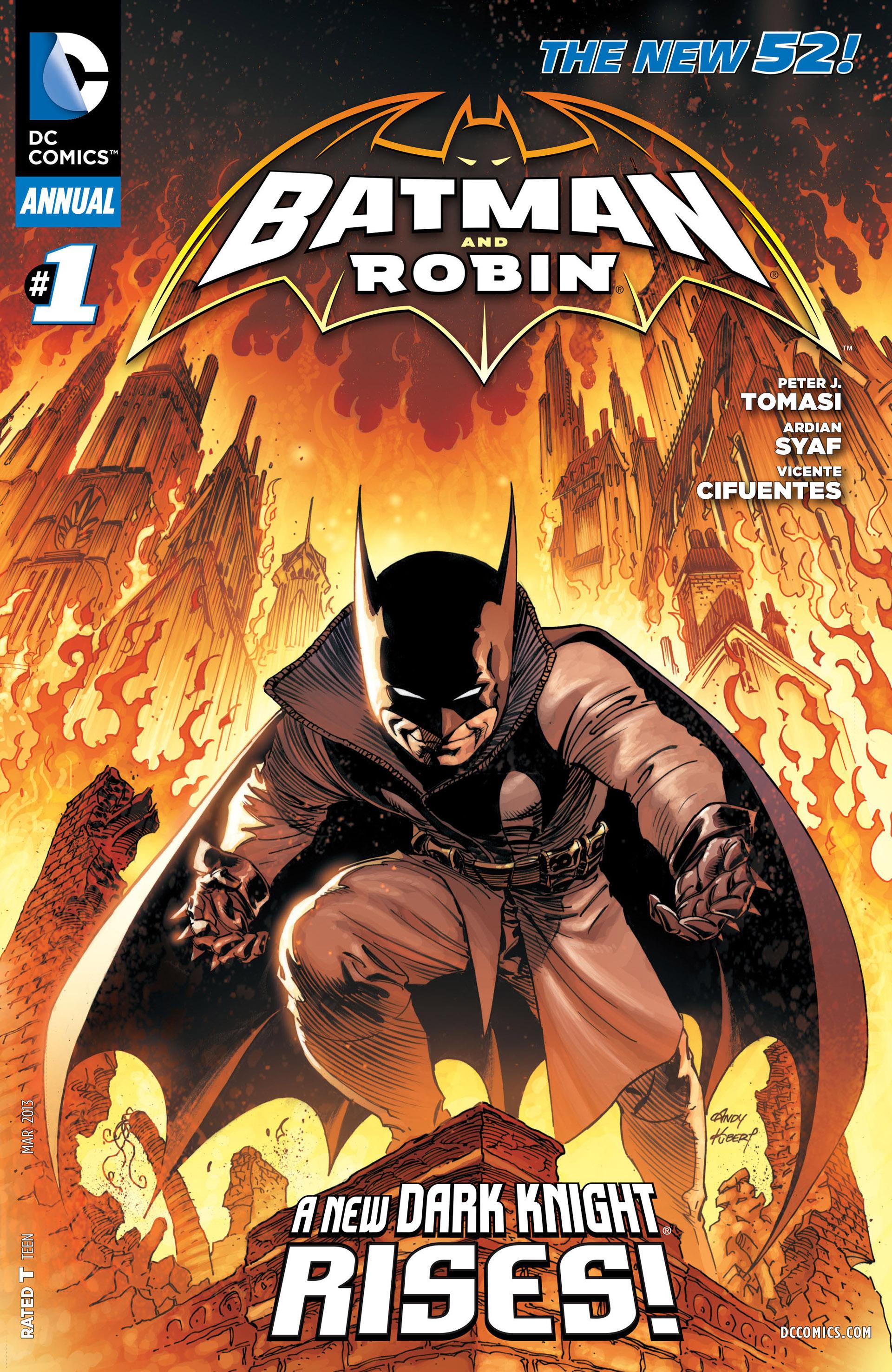batman and robin annual new 52