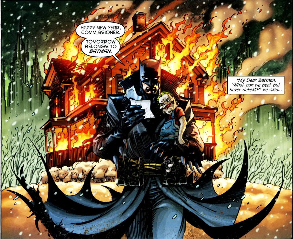 Batman 700 Page 33 Damian Wayne