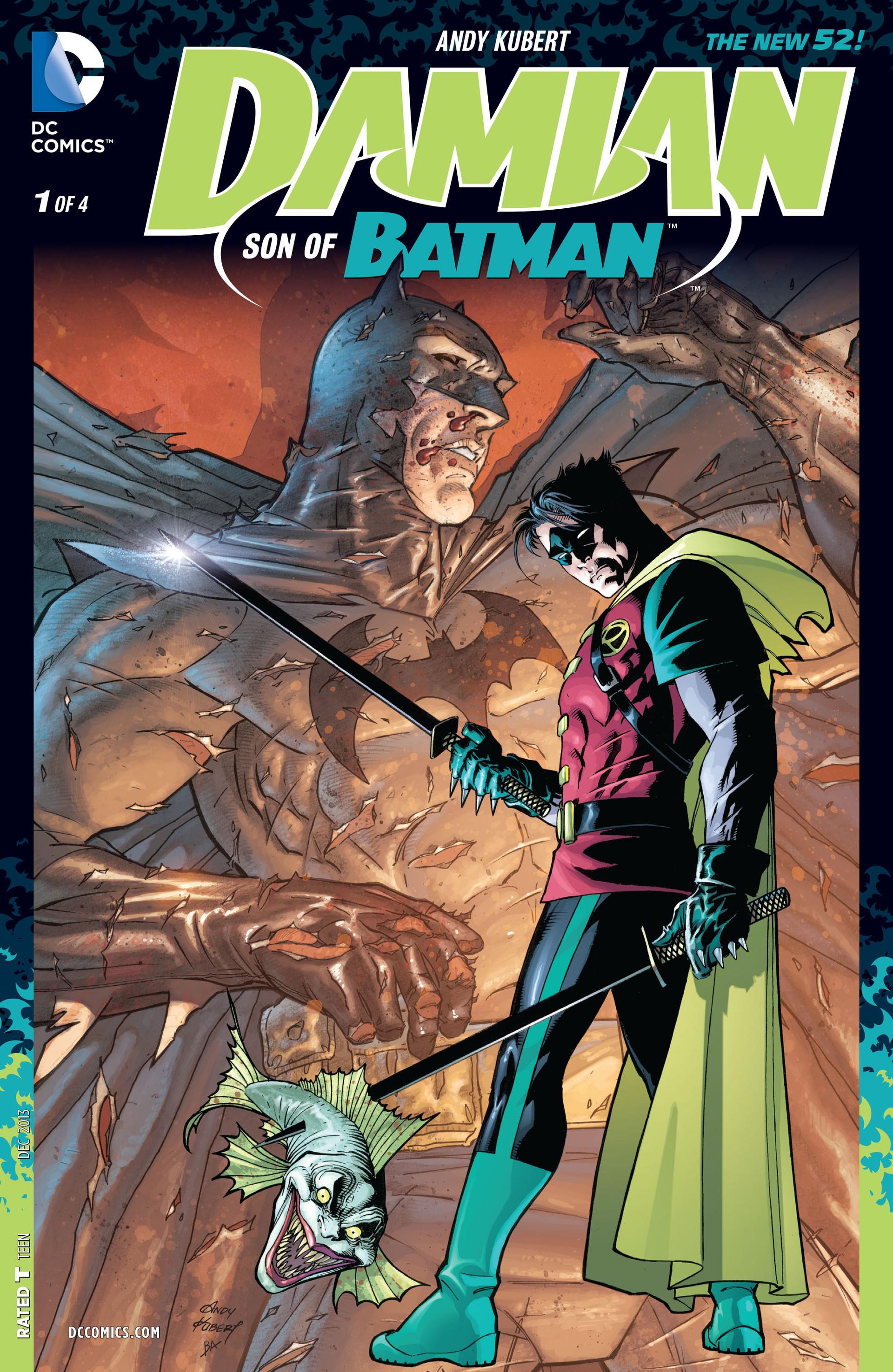 damian son of batman kubert #1