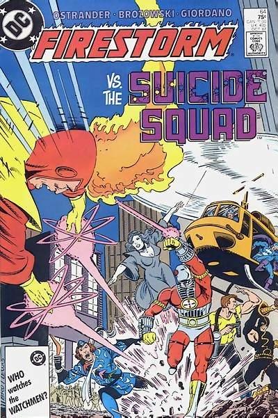firestorm nuclear man vs suicide squad