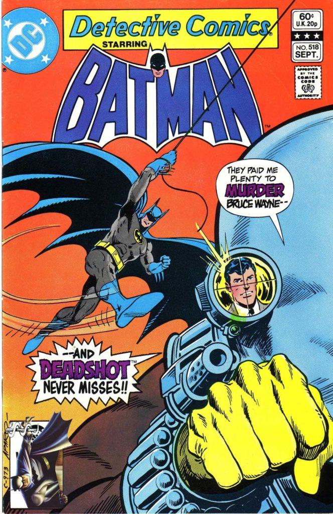 detective comics 518 deadshot cover
