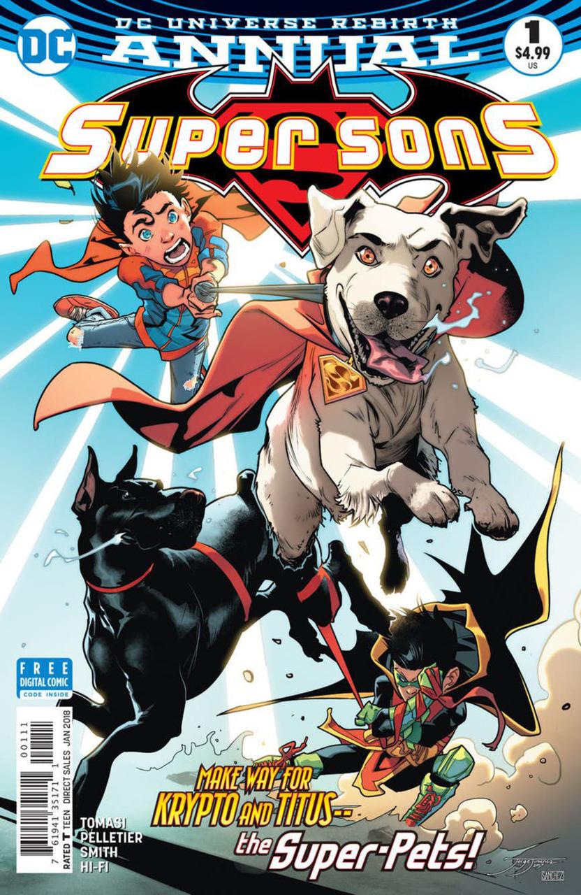 The Batman Universe Review Super Sons Annual 1