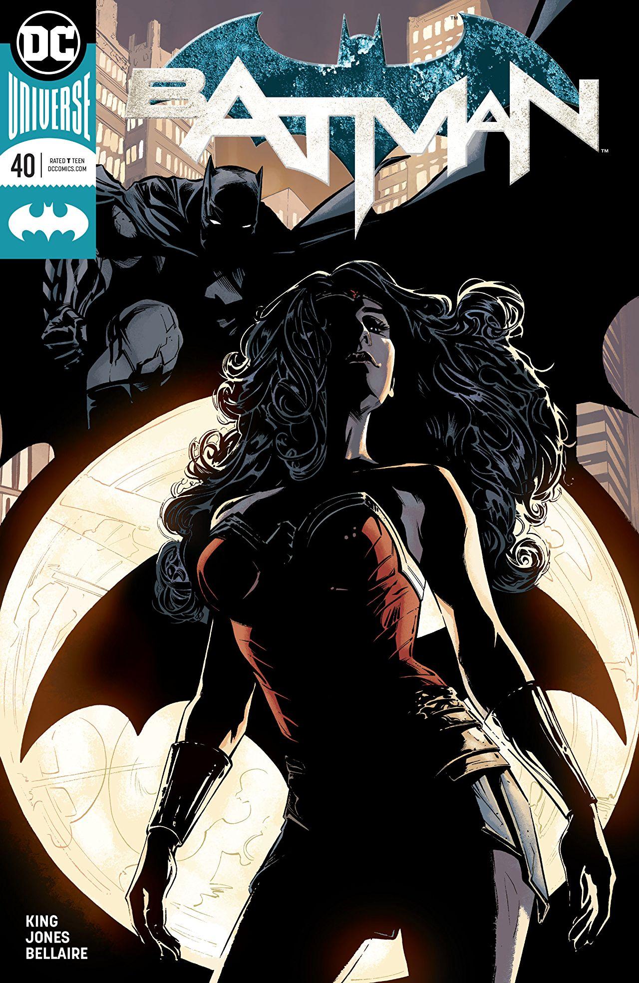 the batman universe � review batman 40