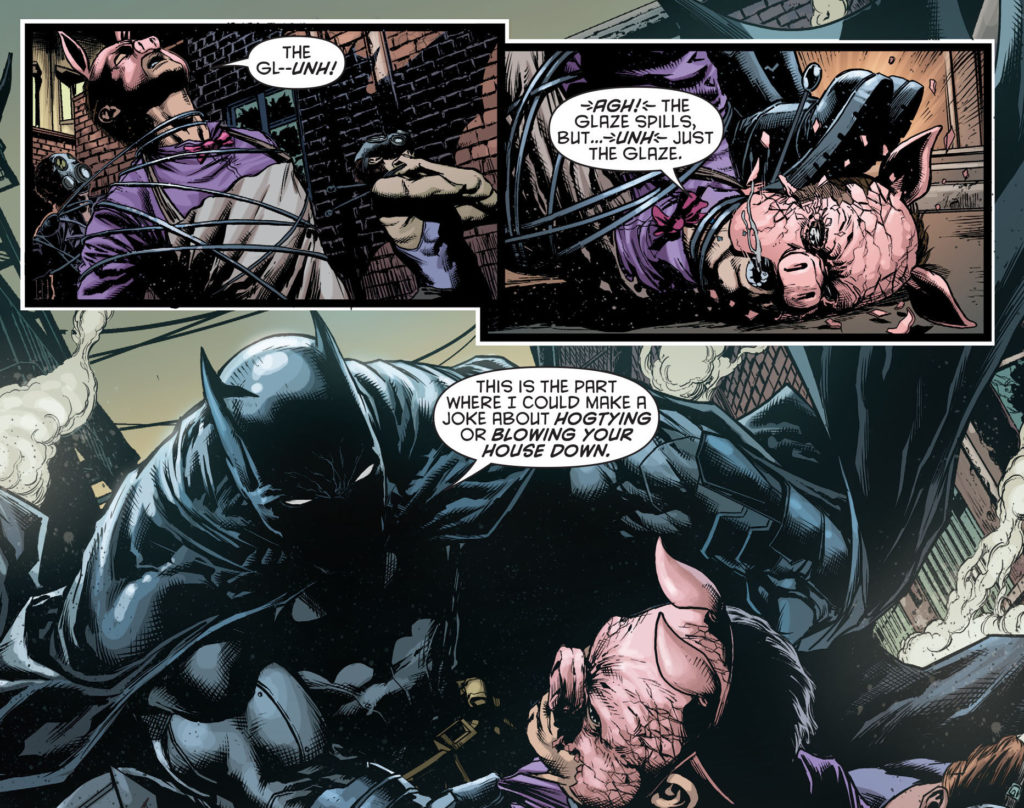 batman eternal #1 batman vs pyg