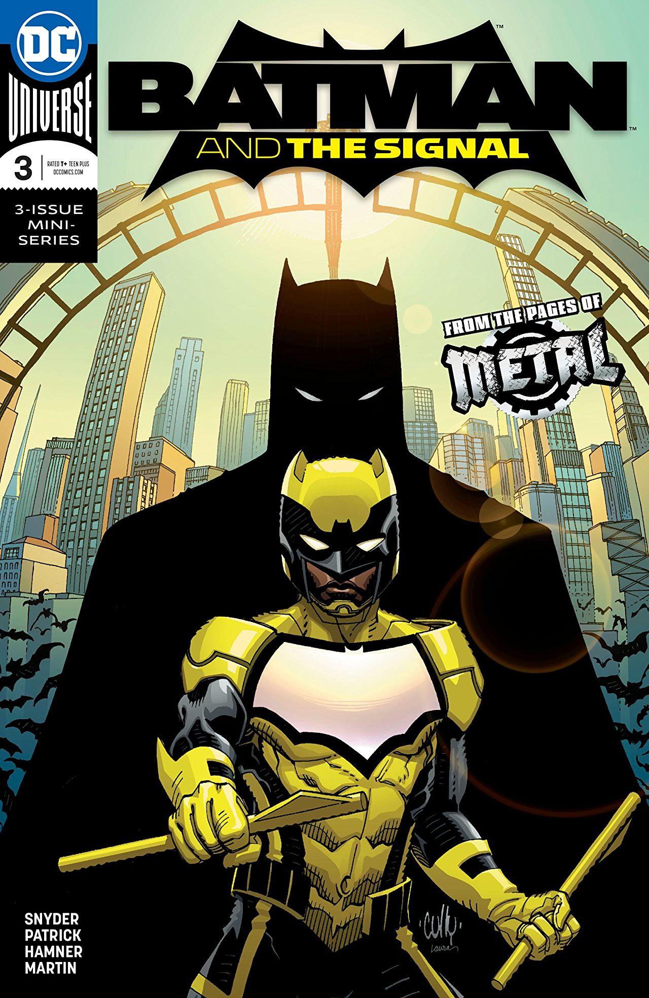 The Batman Universe Review Batman And The Signal 3