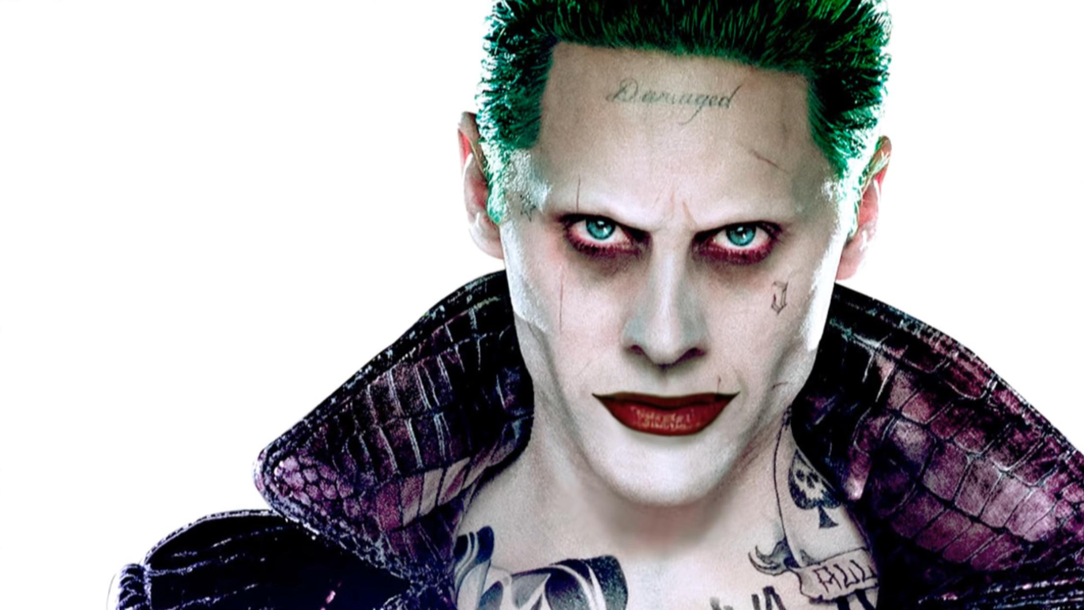 Joker Damaged Tattoo Png: Jared Leto Rumored To Get Solo Joker