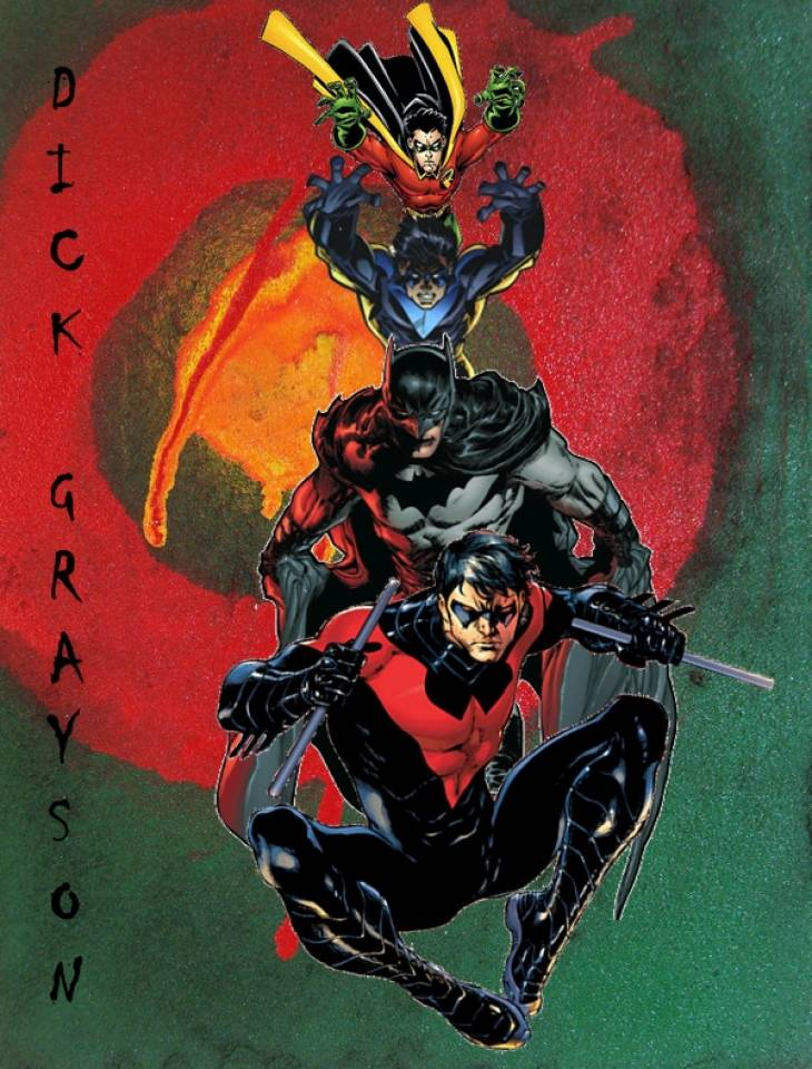 Dick Grayson's evolution