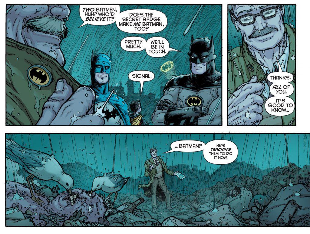 two batmen! batman inc 6