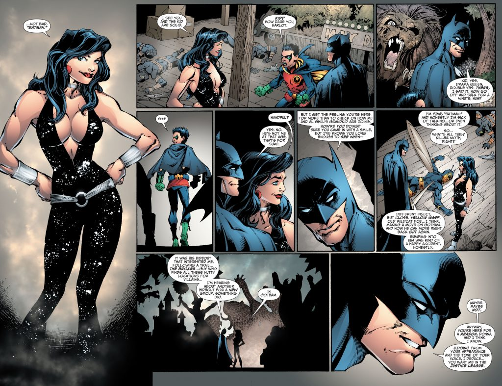 new jla with dick