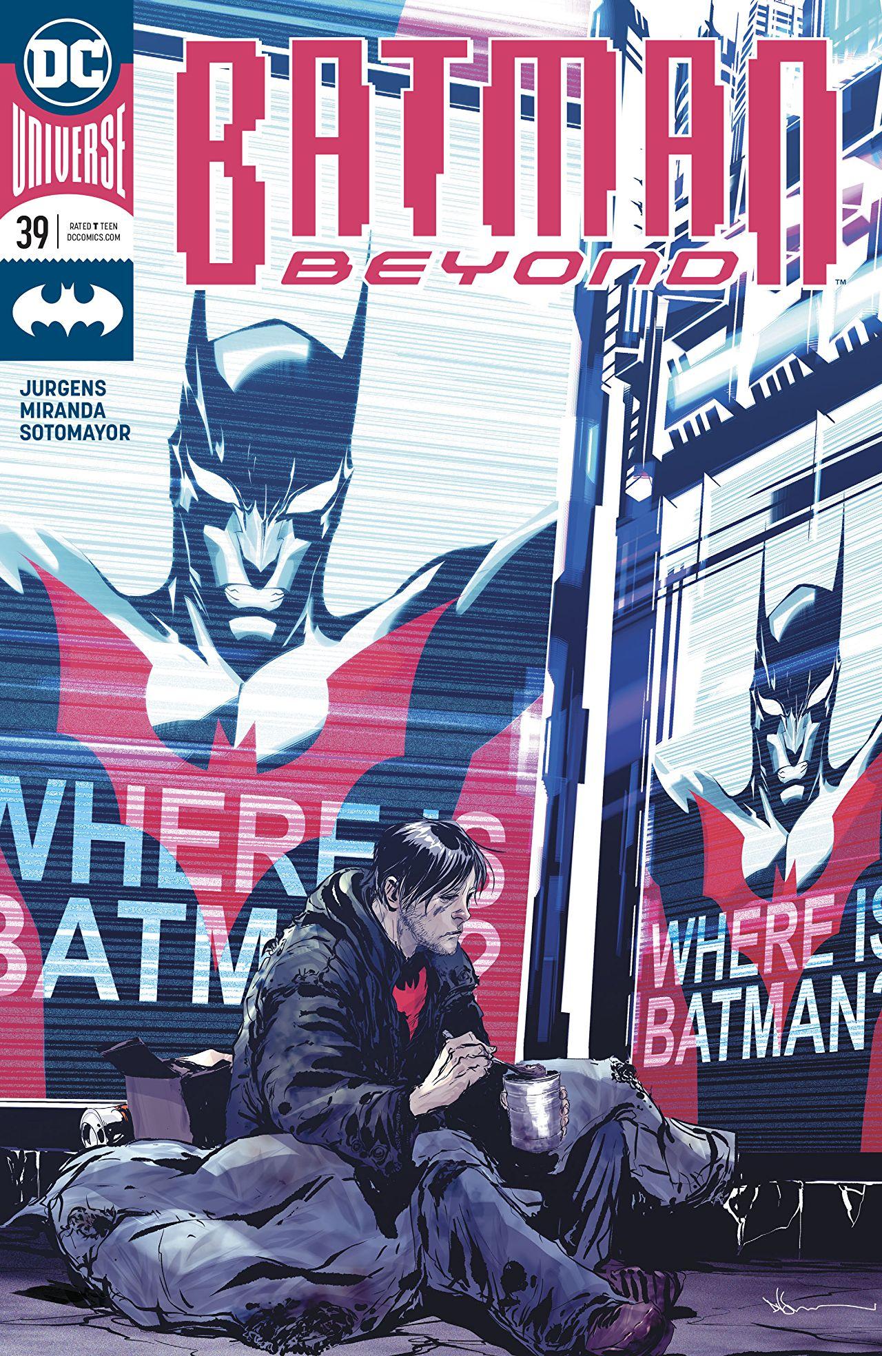 Review: Batman Beyond #39