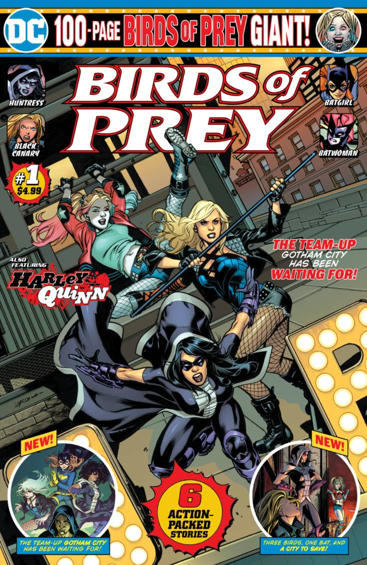 The Batman Universe Review Birds Of Prey 100 Page Giant 1