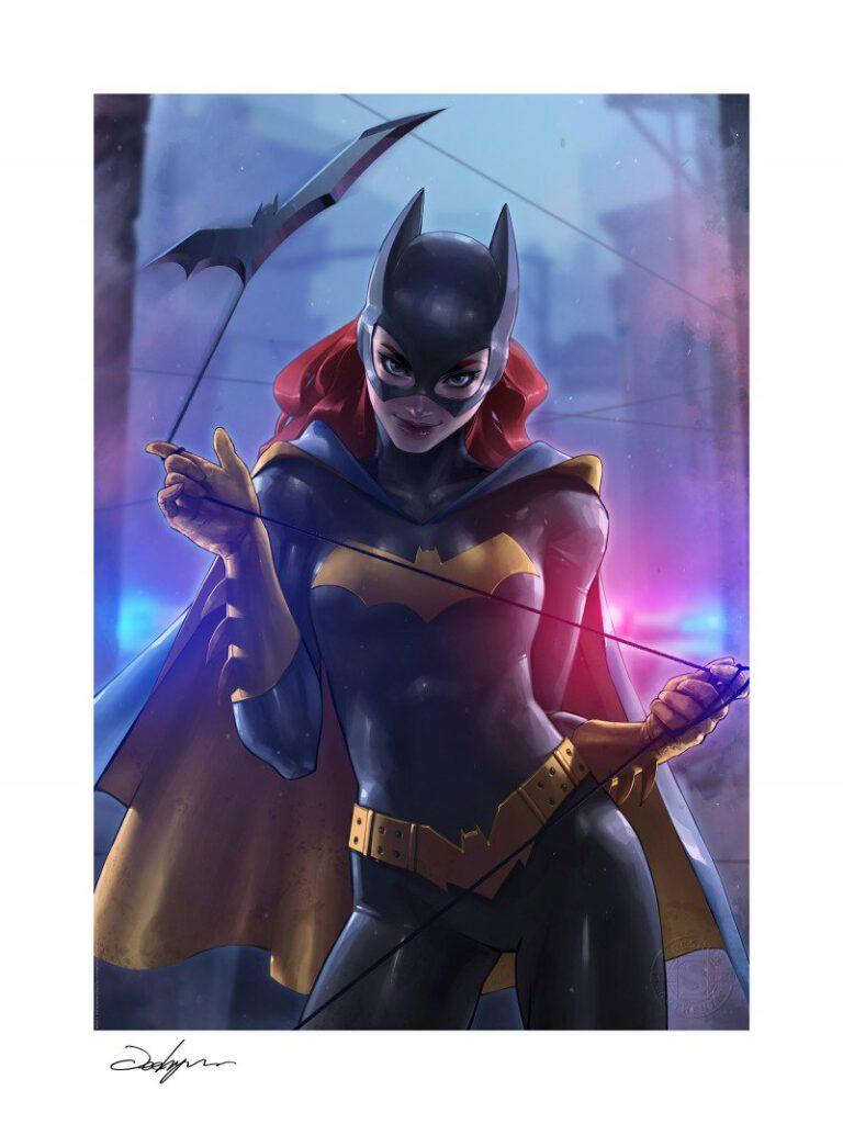 batgirl print by jeehyung lee