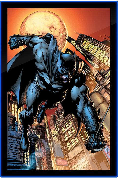 batman led poster sign