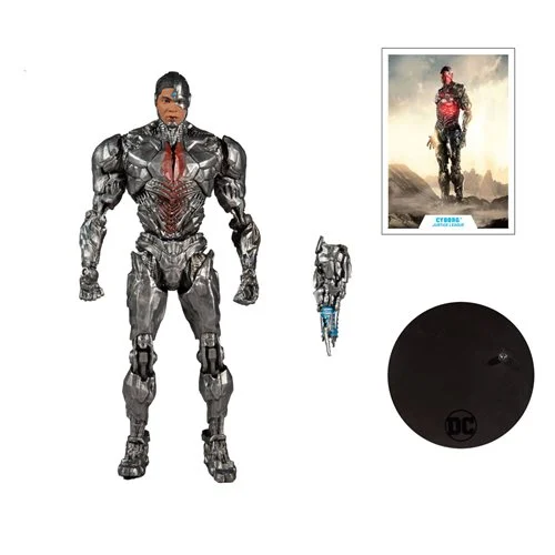 mcfarlane toys zack snyder's justice league cyborg