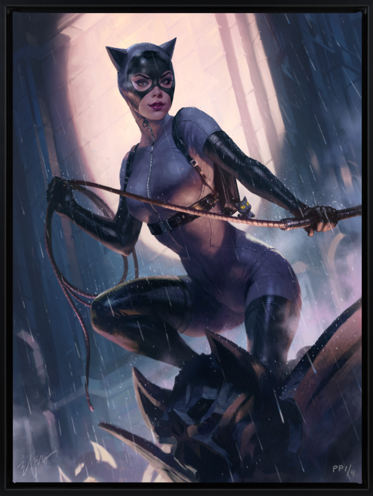 catwoman by heon-hwa choe print