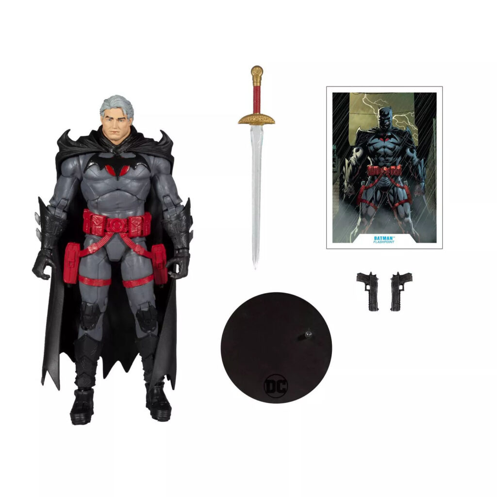 McFarlane Toys DC Multiverse Flashpoint Batman Unmasked Action Figure (Target Exclusive)