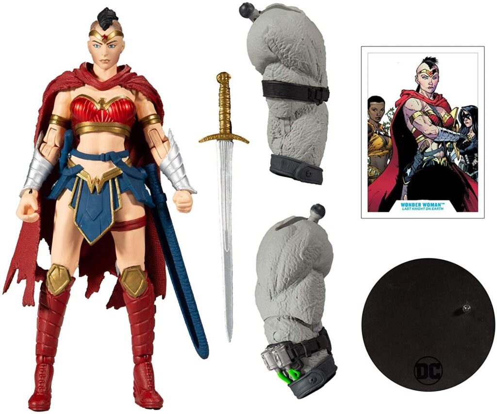 mcfarlane toys batman: last knight on earth wonder woman