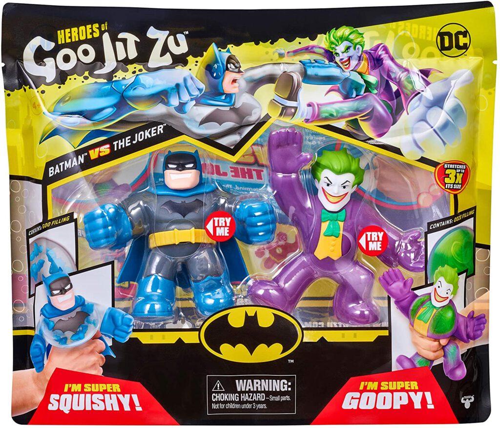 Heroes of Goo Jit Zu DC Season 1 Versus Pack – Batman vs Joker