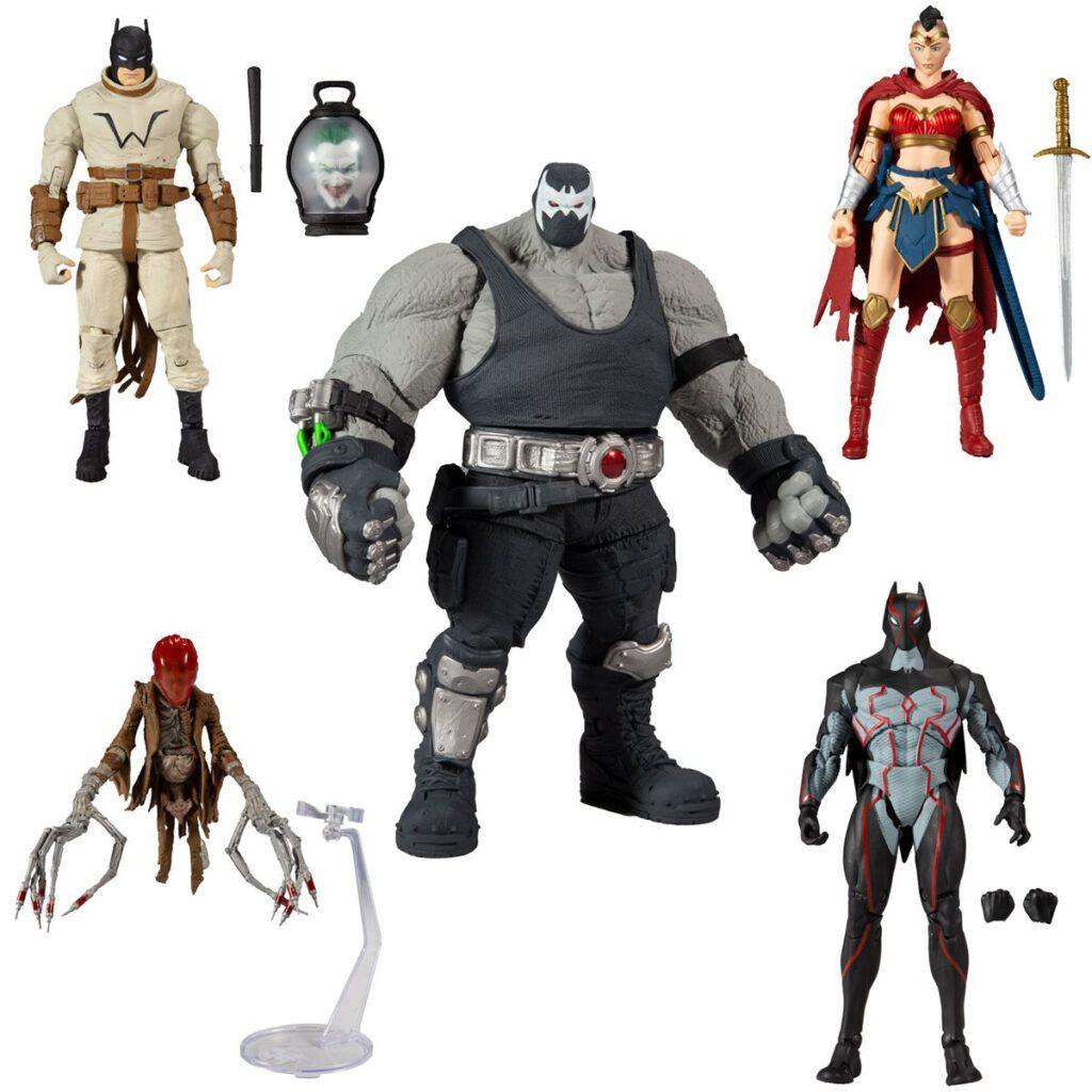 mcfarlane toys batman: last knight on earth set