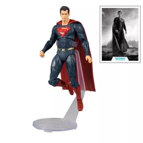 mcfarlane toys zack snyder's justice league superman